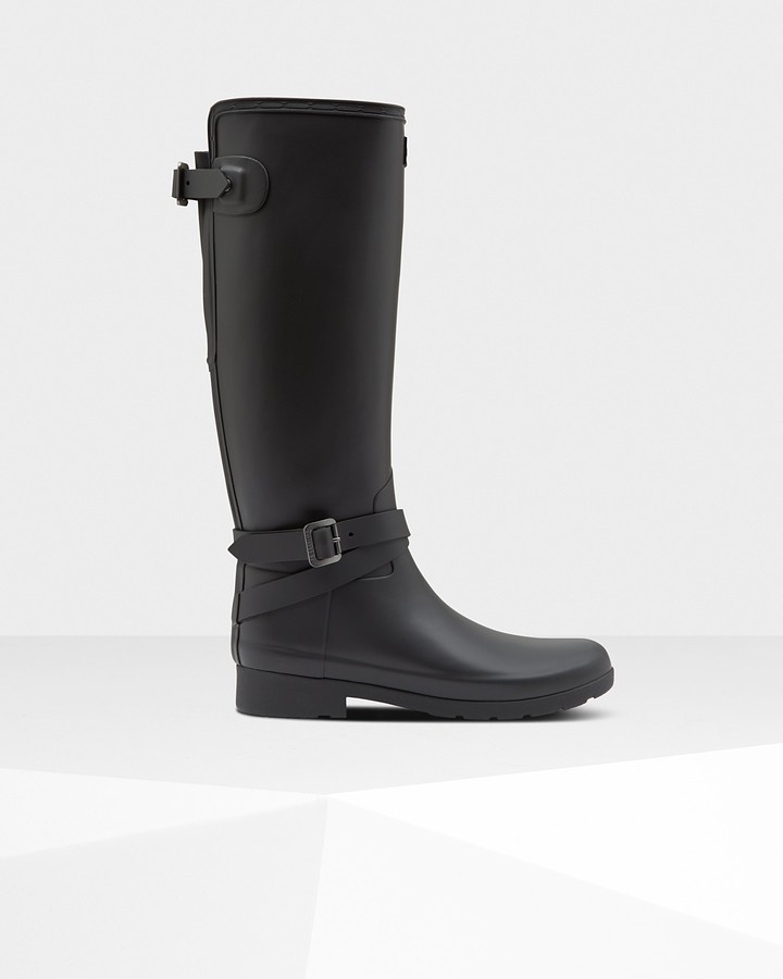 Hunter Women's Refined Slim Fit Adjustable Tall Wellington Boots
