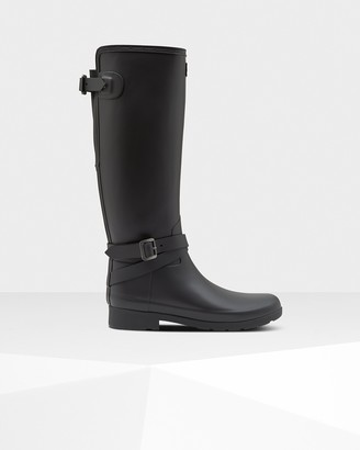 Hunter Women's Refined Slim Fit Adjustable Tall Rain Boots