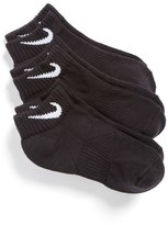 Nike Boy's 3-Pack Cushioned Low Cut Socks