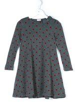 Il Gufo polka dot knitted dress