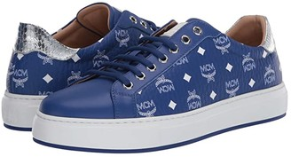 MCM Visetos Low Top Sneaker (Surf the Web) Men's Shoes