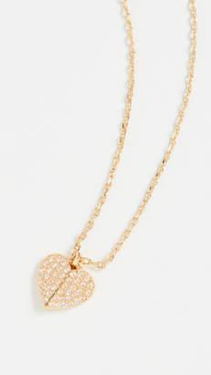 Kate Spade Pave Mini Pendant Necklace