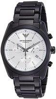 Emporio Armani Men's AR1492 Sport Black Ceramic Watch