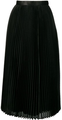Junya Watanabe Pleated Flared Midi Skirt