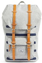 Herschel Men's Little America Offset Backpack - Grey
