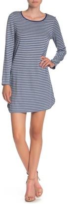 Max Studio Striped Knit Dress