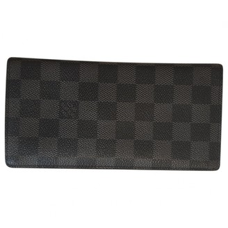 Louis Vuitton Brazza Anthracite Cloth Small bags, wallets & cases