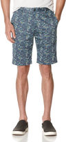 Perry Ellis Slim Fit Exclusive Cloud Stripe Short