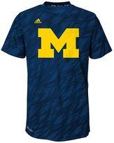 adidas Boys 4-7 Michigan Wolverines Mark My Words Climalite Tee