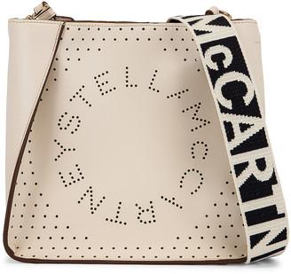 Stella McCartney Mini Crossbody Bag in Pure White | FWRD