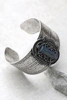 LuLu*s Enchanted Kingdom Blue and Silver Cuff Bracelet