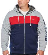 U.S. Polo Assn. Uspa Midweight Sherpa Jacket - Big and Tall