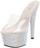 Pleaser USA Women's Bejeweled-701DM/C/SMCRS Platform Sandal