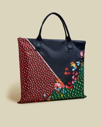Ted Baker Peppermint Foldaway Shopper Bag
