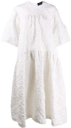 Simone Rocha Cloque Tiered Dress