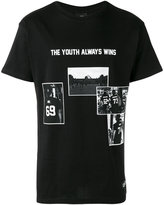 Les (Art)ists Youth Always Wins slogan t-shirt - men - Cotton - S