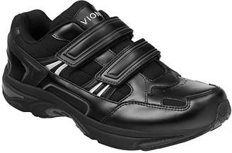 Vionic Albert (Black Leather) Men's Shoes