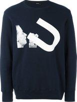 Undercover front print sweatshirt