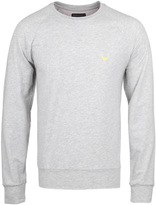 Emporio Armani Light Grey Crew Neck Sweatshirt
