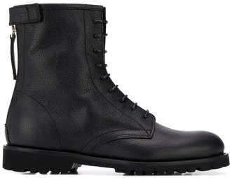 Woolrich Lace-Up Ankle Boots