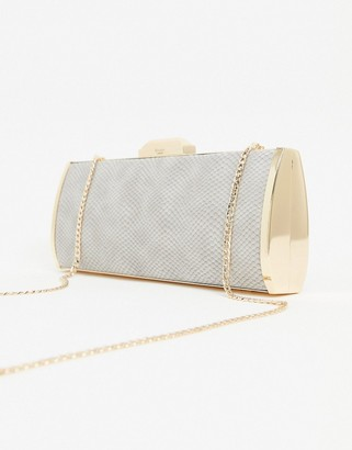 Dune sarah snake effect Box Bag