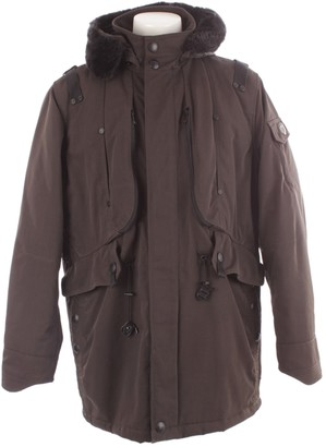 N. Non Signé / Unsigned Non Signe / Unsigned \N Brown Synthetic Jackets