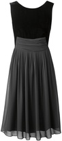 Coldwater Creek Party perfect velvet dress