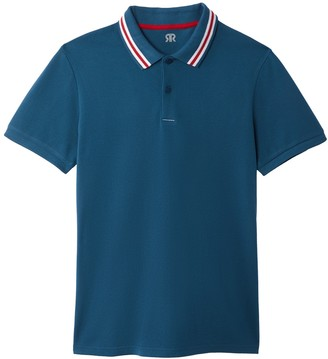 La Redoute Collections Cotton Short-Sleeved Polo Shirt