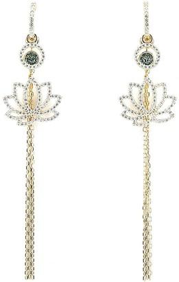 Swarovski Symbolic Lotus Earrings