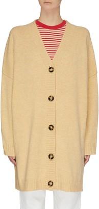 Acne Studios Oversized wool knit cardigan