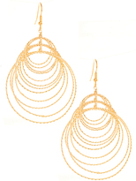 GUESS by Marciano Britney Circle Earrings