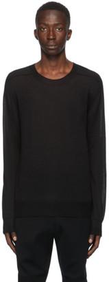 Bottega Veneta Black Cashmere Sweater
