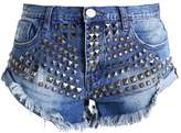One Teaspoon LIMITED EDITION BANDIT Denim shorts pacifica