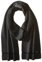 Cole Haan Fine Gauge Pattern Jacquard Knit Muffler