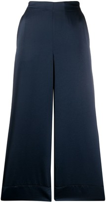 Blanca Vita Wide Leg Cropped Trousers