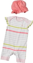 French Connection Baby Girls Romper Set Optic White