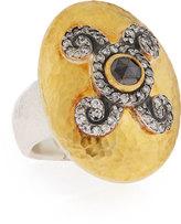 Gurhan Diamond Elegance Domed Lentil Ring