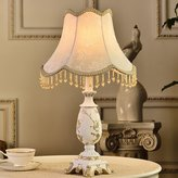 Crystal Xia Desk Lamp The edroom The Head Of A ed Lamp The Princess Marriage Room Warm Cloth Art Desk Lamp Home Decoration ( Color : , Size : )