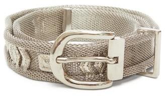 Isabel Marant Bisa Chainmail Belt - Silver