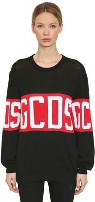 GCDS Logo Knitted Sweater