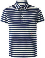 Marc Jacobs short sleeve stripe polo shirt - men - Cotton - M