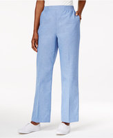 Alfred Dunner Long Weekend Pull-On Pants