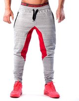 Ouber Men's Fitted Shorts Bodybuilding Workout Gym Running Jogger Pants (M, )