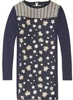 Scotch & Soda R'Belle Girl's Woven Star Jersey Kleid Dress