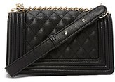 Forever 21 FOREVER 21+ Quilted Faux Leather Crossbody