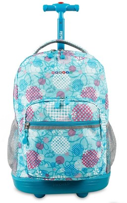 "J World 18"" Sunrise Rolling Backpack -"