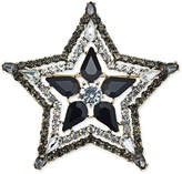 INC International Concepts Anna Sui x Silver-Tone Stone and Crystal Star Pin, Created for Macy's