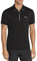 BOSS GREEN Philix Zip Slim Fit Polo Shirt