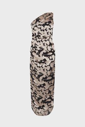 Coast One Shoulder Column Maxi Dress
