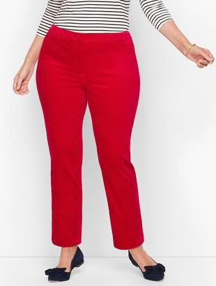Talbots Plus Size Hampshire Ankle Pants - Velveteen